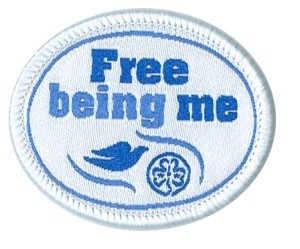 Free being me Patch