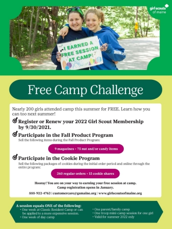 3 Easy Steps to earn a Free Session at Camp